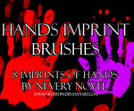 Hands Imprint Brushes