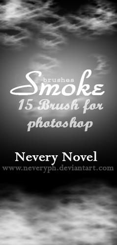 Smoke Brushes by Neveryph-stock