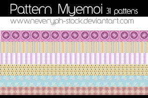 Myemoi Patterns by Neveryph-stock