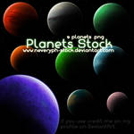 Planets Stock png