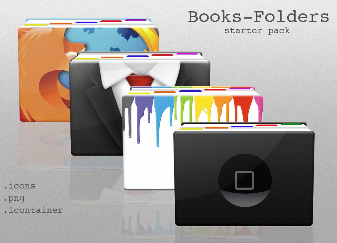 Books-Folders by vargas21