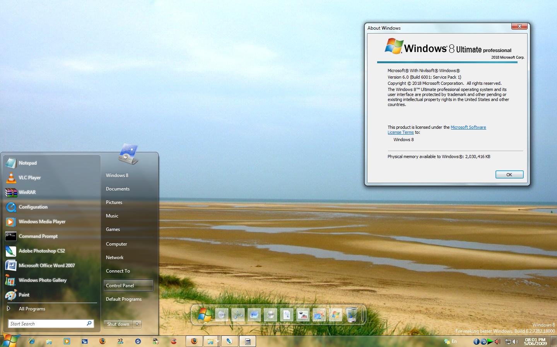 Windows 8 7282 RC
