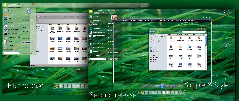 OS Windows Snow 7
