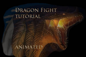 Dragon Fight tutorial animation by Black-Wing24