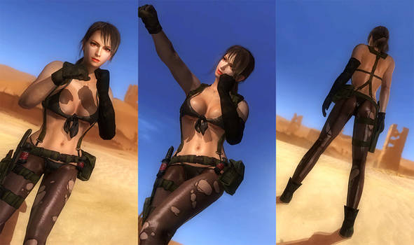 DOA5LR: Quiet Cosplay