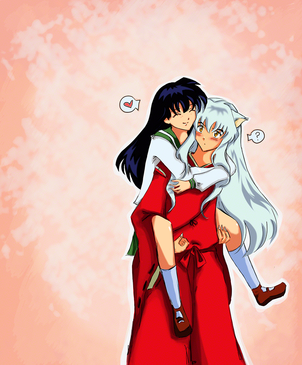 Inuyasha And Kagome Sweet Love By Rocioo On Deviantart