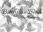 Butterflies Brush Set
