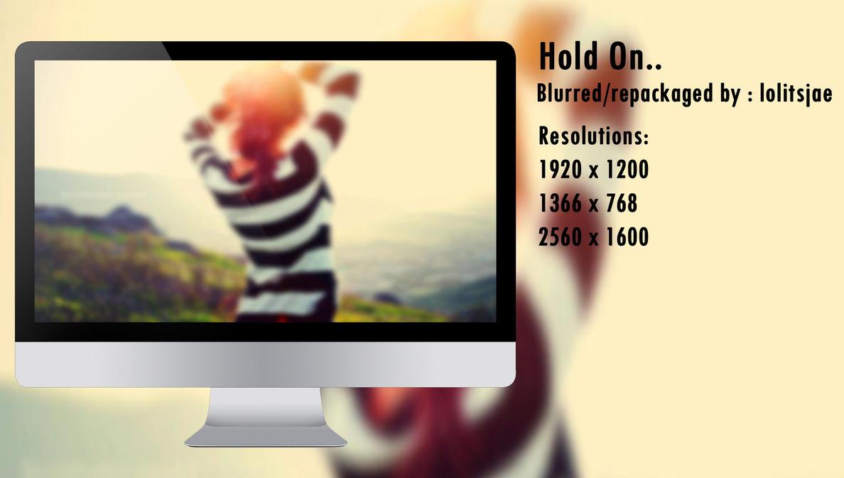 Hold On _ Blur by lolitsjae