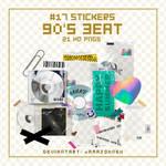#17 Stickers: 90s Beat