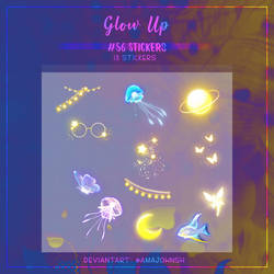 #56 Stickers: Glow Up