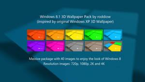Windows 8.1 3D Wallpaper Pack (by roddiow)