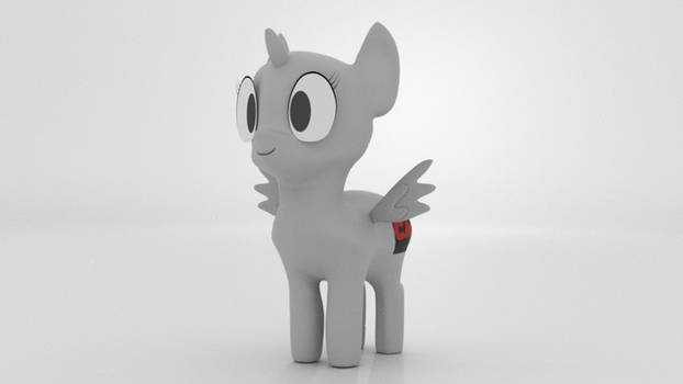 Chibi Mare Rig Template - Turntable (GIF)