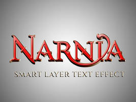 Narnia Text Effect by stormyhale