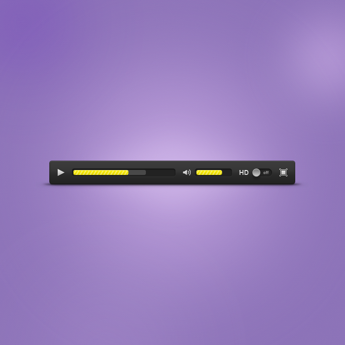 Free Media Player - UI by Czarny-Design