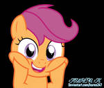 My Squishy Plump Cheeks by kuren247