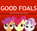 (Crossover parody) Good Foals by kuren247