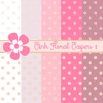 Free Pink Floral Papers