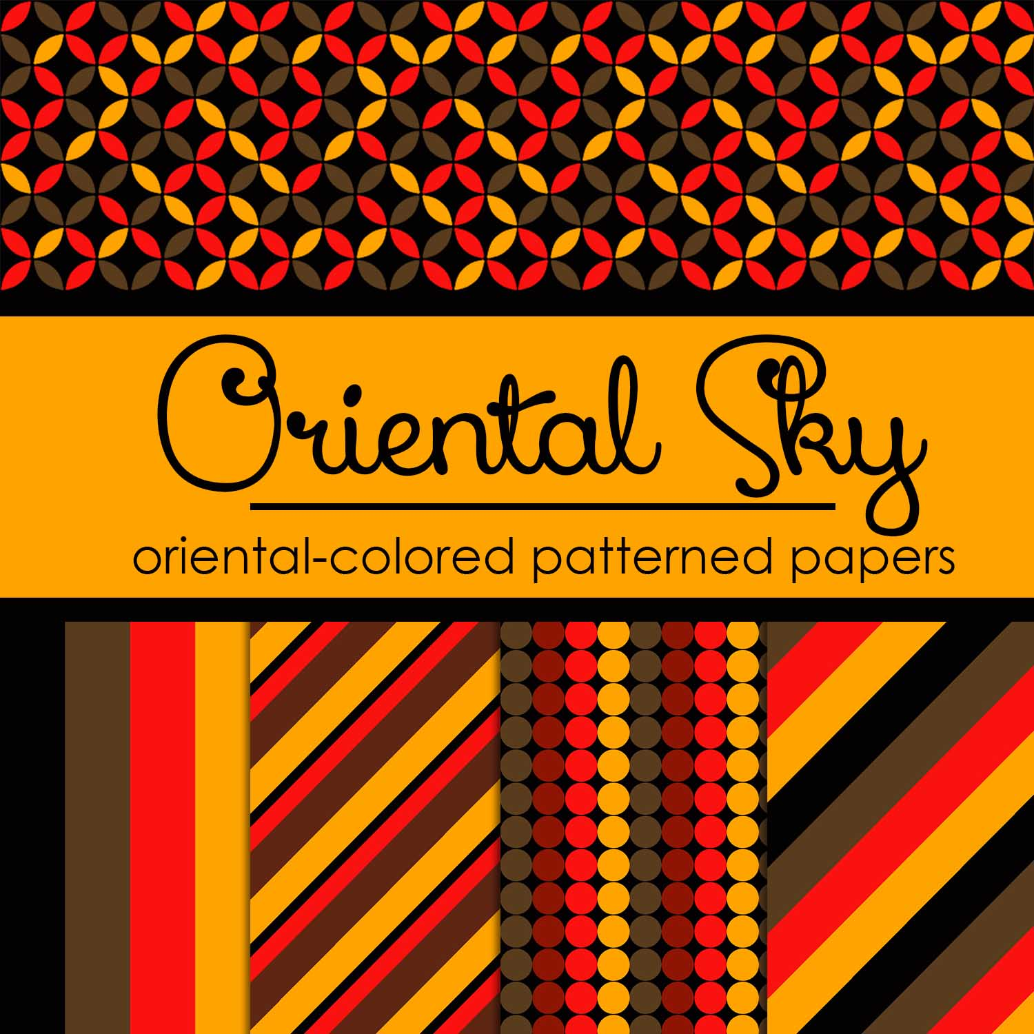 Free Oriental Sky: Oriental-Colored Papers