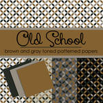 Free Old School Brown and Gray Toned Papers
