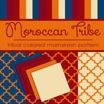 Free Moroccan Tribe: Marrakesh Pattern