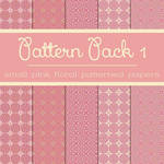 Free Pattern Pack 1: Pink Floral