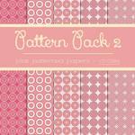 Free Pattern Pack 2: Pink Circles