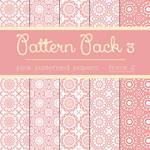 Free Pattern Pack 3: Pink Floral 2