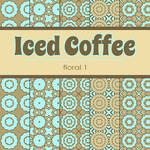 Free Iced Coffee: Floral 1 Patterned Papers