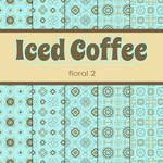 Free Iced Coffee: Floral 2 Patterned Papers
