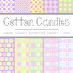 Free Cotton Candies: Pastel Polka Dots