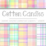 Free Cotton Candies: Pastel Plaids