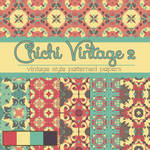 Free Chichi Vintage 2 Patterned Papers