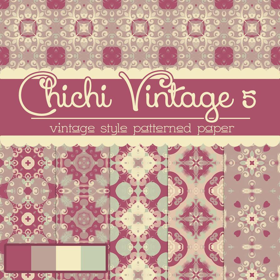 Photoshop Free Chichi Vintage Patterned free_chichi_vintage_