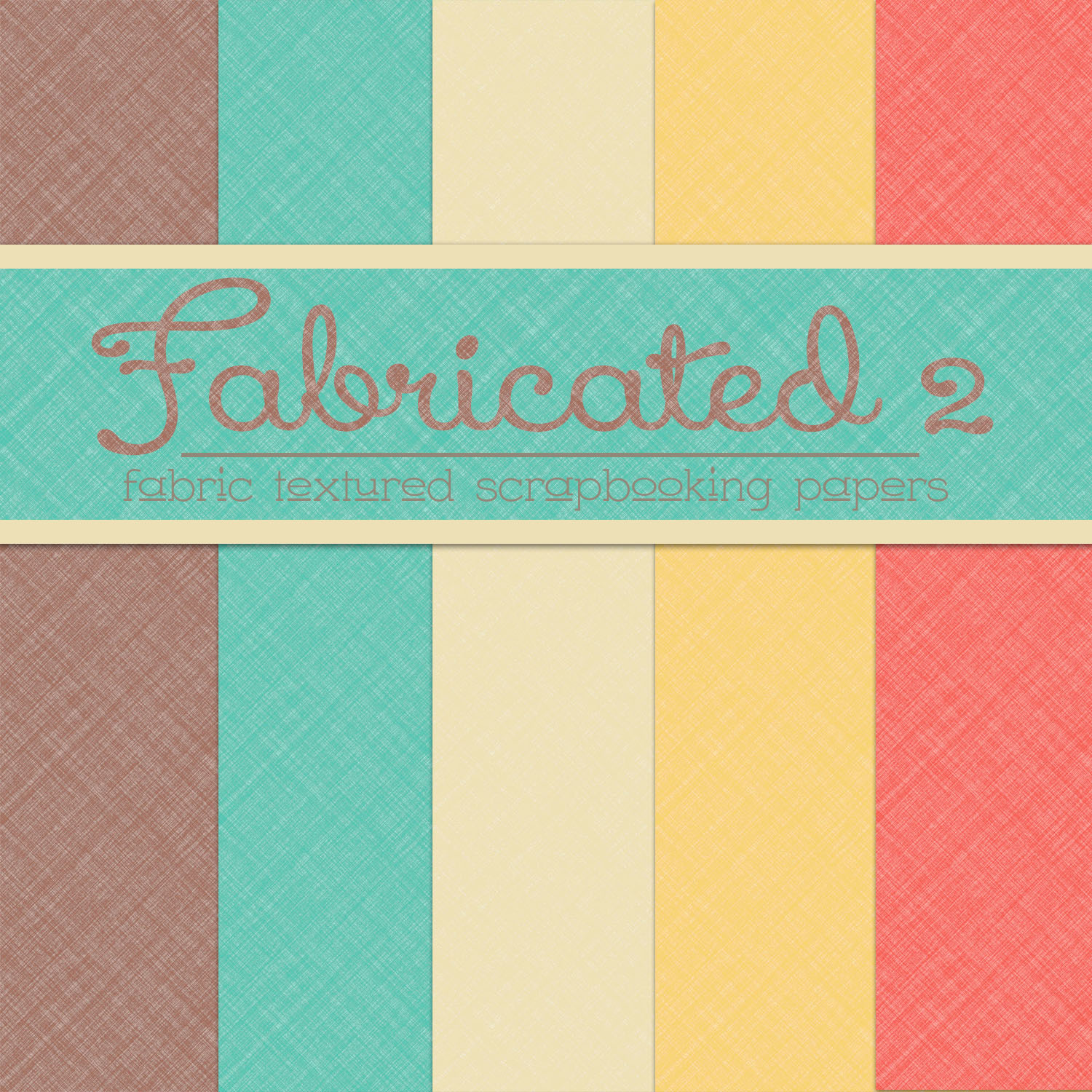 Free Fabricated 2: Fabric Textured Papers