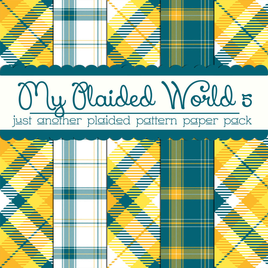 Free My Plaided World 5 by TeacherYanie