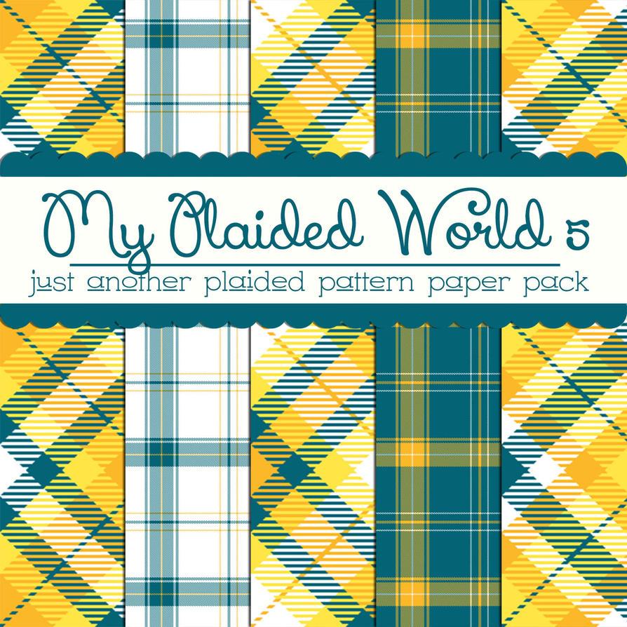 Free My Plaided World 5 by TeacherYanie