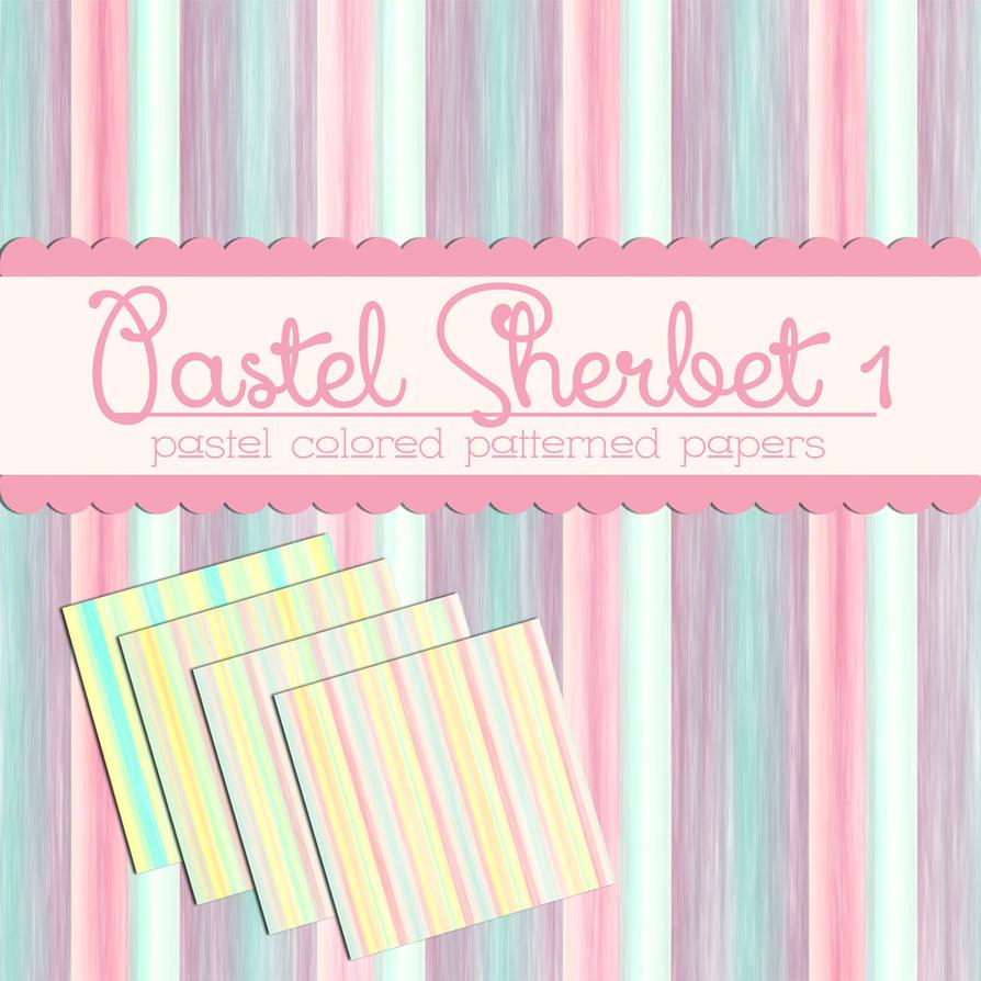Free Pastel Sherbet 1 by TeacherYanie