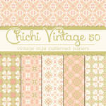 Free Chichi Vintage 50 Patterned Papers