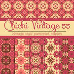 Free Chichi Vintage 55 Patterned Papers