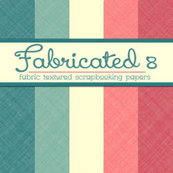 Free Fabricated 8: Fabric Textured Papers