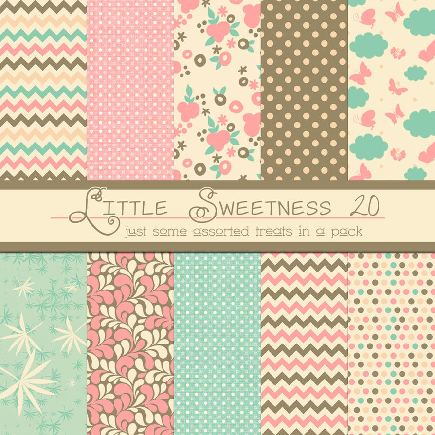 Free Little Sweetness 20 by TeacherYanie