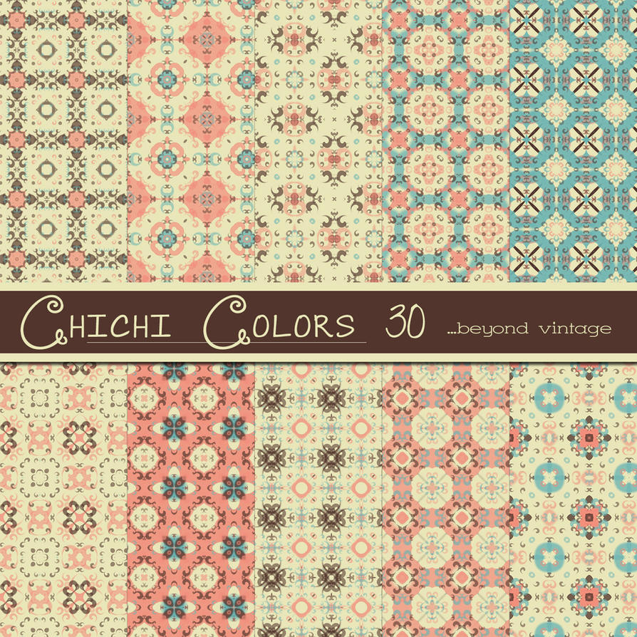 Free Chichi Colors 30 by TeacherYanie