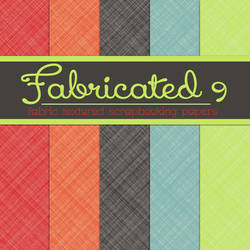 Free Fabricated 9: Fabric Textured Papers