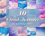 30 Icon-sized Cloud Textures