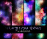 4 Large Nebula Textures
