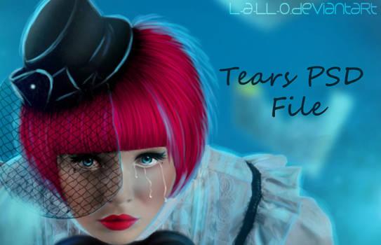 Tears PSD File