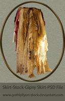 Stock-Gipsy Skirt by GothLyllyOn-Sotck