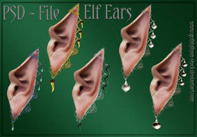 ELF-EARS-by-GothLyllyOn-Stock by GothLyllyOn-Sotck