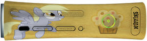 Derpy Hooves Xbox360 Faceplate