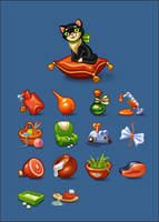 Kitty Icons by prokofusha
